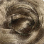 Viscose tops / roving - 20 gm - Earth