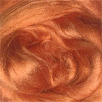 Viscose tops / roving - 20 gm - Marigold