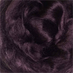 Viscose tops / roving - 20 gm - Purple Grape