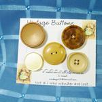 'Vintage Buttons' Set 9.