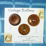 'Vintage Buttons'  Set 3.