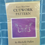 Easy Machine Cutwork Pattern - Butterflies
