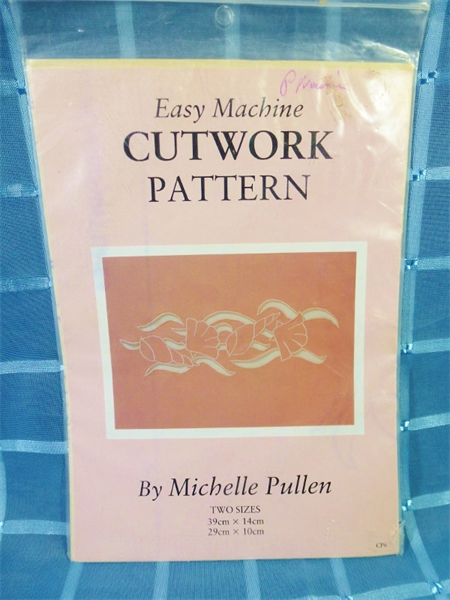 Easy Machine Cutwork Pattern - Sea Shells