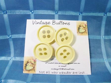 'Vintage Buttons'  Set 8.