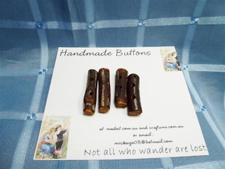 Handmade Branch Buttons Set 7.