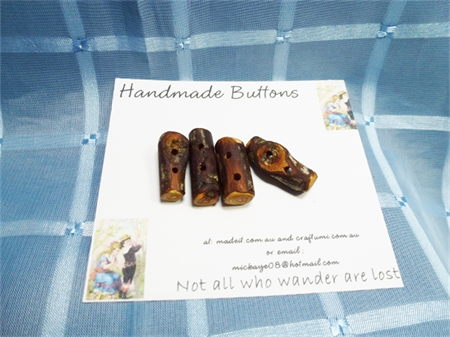 Handmade Branch Buttons