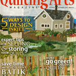 QUILTING ARTS Magazine, October/November 2008, Back Issue 35, Craft Destash