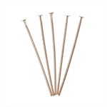 500PCs Rose Gold Ball Head Pins 30mm x 0.7mm