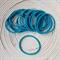 25 x Turquoise Hair Ties/Elastics
