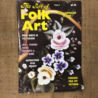 Magazine -The Art of Folk Art - Great Australian Designs