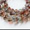 Pink Luster 4/6mm Bell Flower Czech Glass Beads (50 pieces)