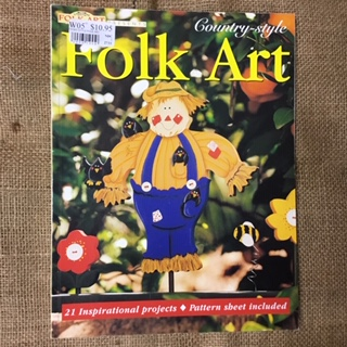 Book - Folk Art Country Style