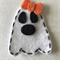 White ghost felt embellishment