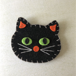 Cat felt embellishment