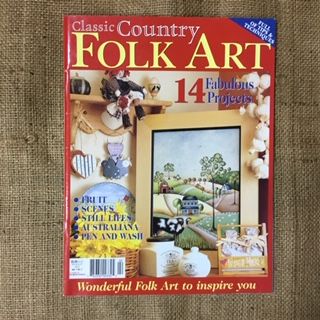 Magazine - Classic Country Folk Art Vol. 1 No. 2