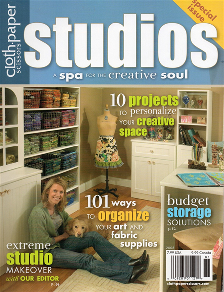 CLOTH PAPER SCISSORS, Studios Magazine, Special Issue 2008, Craft Destash