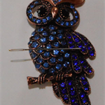 Large Blue Owl needle minder