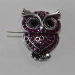 Pink Owl needle minder