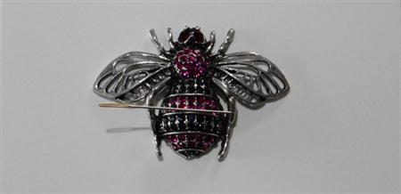 Pink Bee needle minder