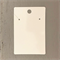 100 Kraft Necklace Display Cards WHITE