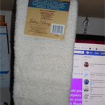 Hand towels Egyptian Cotton Cream
