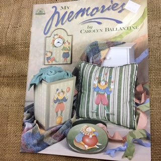 Book - My Memories by Carolyn Ballantine - Folk Art