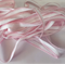 10mm Elastic White with Pink Edging