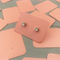 50 Kraft Earring Display Cards PEARLY PINK