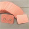 100 Kraft Earring Display Cards PEARLY PINK