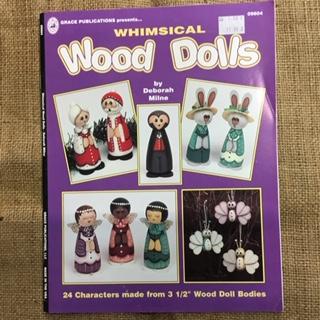 Book - Whimsical Wood Dolls by Deborah Milne