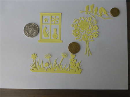 Lemon  Die Cut mix.