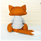 Fox Family Sewing Pattern | PDF Pattern