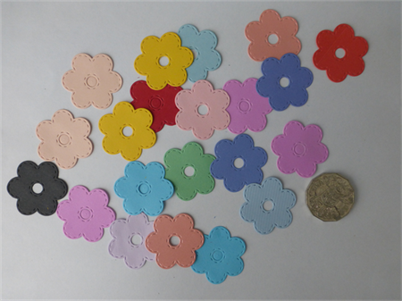 Colour Flower Mix 20 pce Die Cuts.  Postage Included