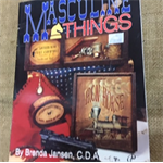 Book - Masculine Things by Brenda Jansen