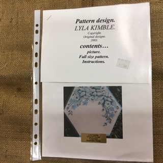 Pattern Packet of Daffodils by Lyla Kimble