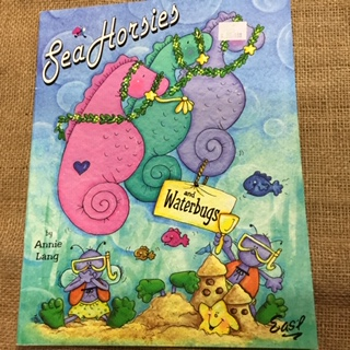 Book - Sea Horses and Waterbugs by Annie Lang