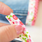 'Scrap' pack of quality 'Liberty' style floral and polka dot bias binding trim