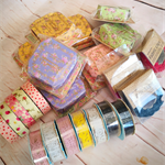 Big bulk craft pack - 23 x various washi, fabric and craft decorative tapes