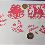 DIE CUTS X RED CHRISTMAS 