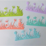 5 Sets of 6 Flower Die Cuts Postage Included