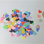 200 Piece Punched Hearts