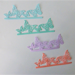 4 Pieces of Butterfly Die Cuts
