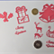 Die Cuts x Red Xmas