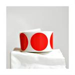 Red {20} Circle Stickers Large {38mm}   Envelope Seals DIY Supplies   Xmas Seals