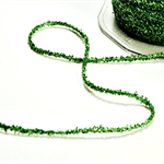 Sparkly Green Tinsel Twine {5m} | Sparkly Green Glitter String