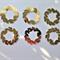 Die Cuts x 8 Gold Wreaths Free Postage
