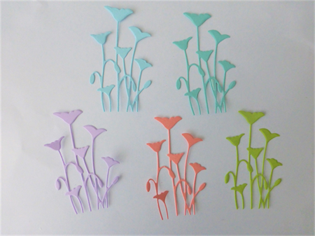 Die Cuts x Five Pieces of Five Field Flowers