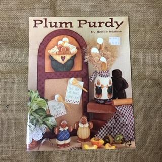 """Magazine - Folk Art """"Plum Purdy"""" by Renee Mullins"""
