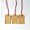 Burlap Tags {10w eyelets + ties} | Christmas Gift Tags | Rustic Burlap Tags
