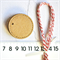 35mm Kraft Tags {10w ties} Stitched Edge Circle Tags | Ecofriendly Kraft Tags